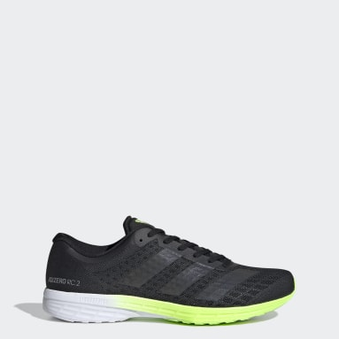 Men Running Black Adizero RC 2 Shoes