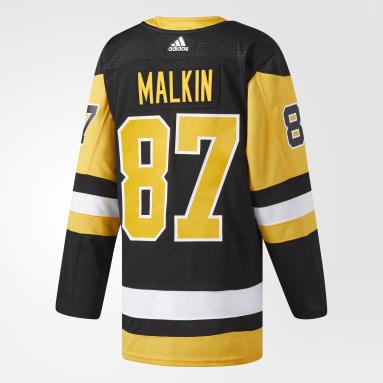 черный Оригинальная домашняя джерси Pittsburgh Penguins