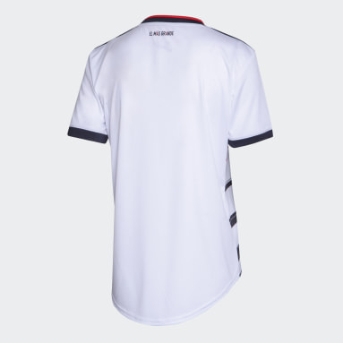 Camiseta Tercer Uniforme River Plate Blanco Mujer Fútbol