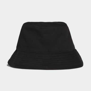 Training Black Cotton Bucket Hat