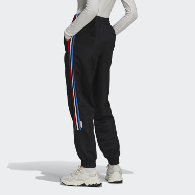 Women Originals Black Adicolor Tricolor Primeblue Track Pants