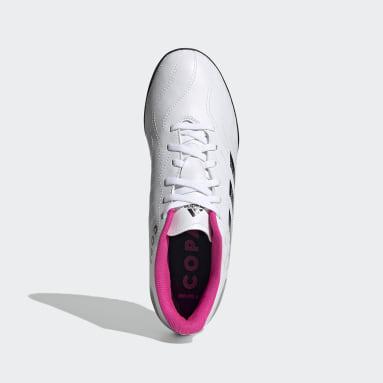 Zapatos de Fútbol Copa Sense 4 Pasto Sintético Blanco Hombre Fútbol