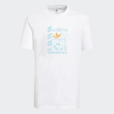 Youth 8-16 Years Originals White Graphic T-Shirt