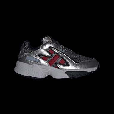 Youth 8-16 Years Originals Grey Yung-96 Chasm Shoes