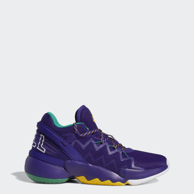 Basketball Purple Donovan Mitchell D.O.N. Issue #2 Shoes
