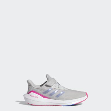 Kids Running Grey EQ21 Run Shoes