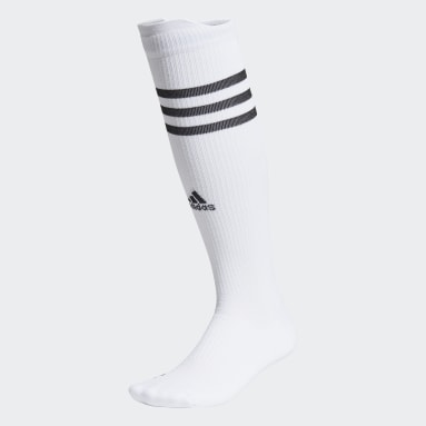 Tennis White Techfit Compression Over-The-Calf Socks