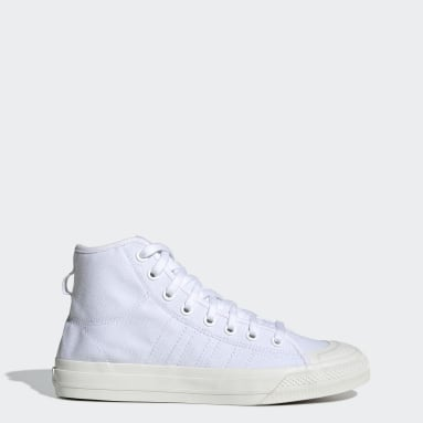 Originals White Nizza RF Hi Shoes