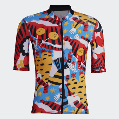Men Cycling Red The Egle Cycling Jersey