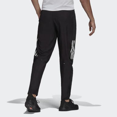 Men Running Black adidas Own The Run Astro Wind Joggers