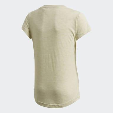 Meisjes Sportswear Geel Must Haves T-shirt