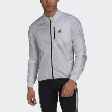 Coupe-vent The Cycling Blanc Hommes Cyclisme