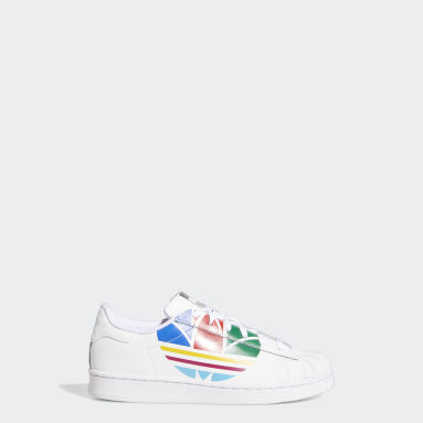 Kids Originals White Superstar Pure Shoes
