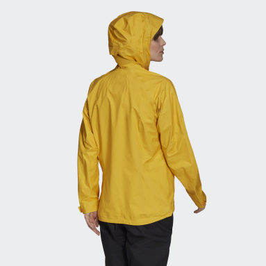 Women TERREX Yellow Terrex Fastr GORE-TEX Rain Jacket