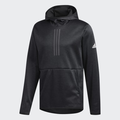 Men's Sportswear Black Team Issue Three Stripe Life Hoodie