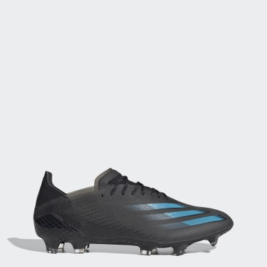Bota de fútbol X Ghosted.1 césped natural seco Negro Hombre Fútbol