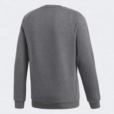 Heren Fitness En Training Grijs Core 18 Sweatshirt