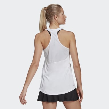 Women Tennis White Club Tennis Tank Top