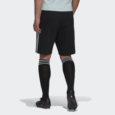 Short Tiro Noir Hommes Football