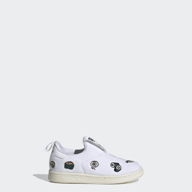 Tenis Stan Smith 360 (UNISEX) Blanco Niño Originals