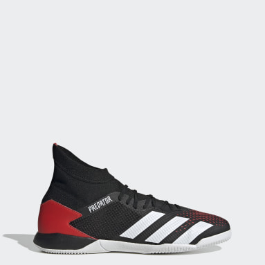 Calzado de Fútbol Predator 20.3 Cancha Cubierta Negro Hombre Fútbol