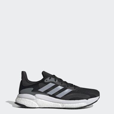 Men Running Black SolarBoost 3 Shoes