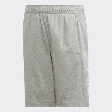 Kids 4-8 Years Gym & Training Grey Tasto Shorts