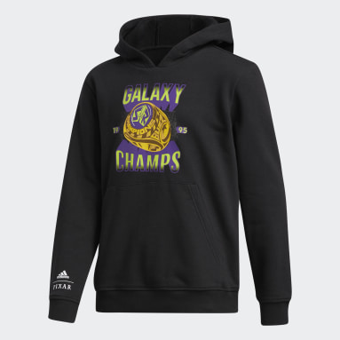 Y GALAXY PO noir Enfants Basketball