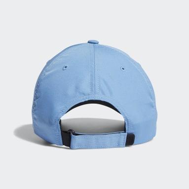 Men Golf Blue Performance Cap