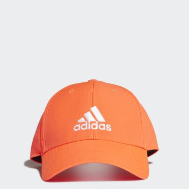 Tennis Orange Baseball Cap