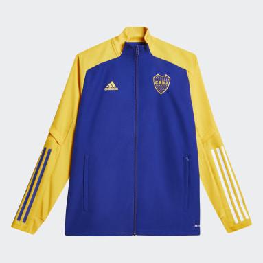 Campera de Presentación Boca Juniors (UNISEX) Azul Niño Fútbol