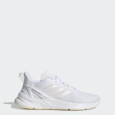 Women's Running White Response Super Shoes