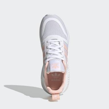 Kids Originals White Multix Shoes