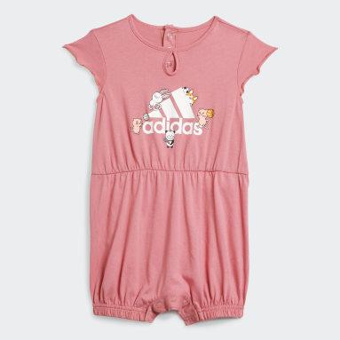Infant & Toddler Training Pink Summer Onesie