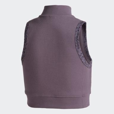 Playera sin Mangas ID Violeta Mujer Sportswear