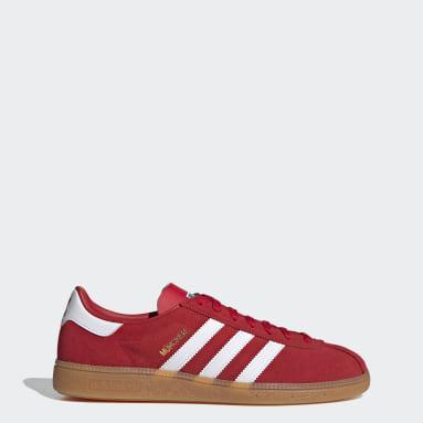 Zapatilla München Rojo Originals