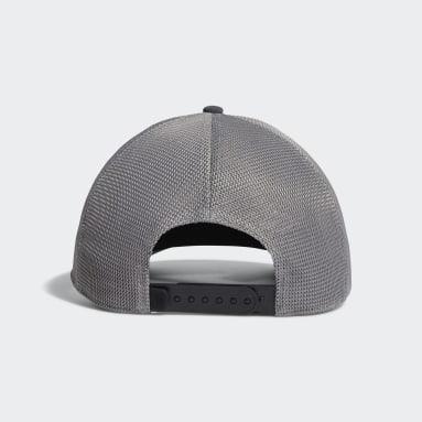 Men's Golf Black Patch Trucker Hat