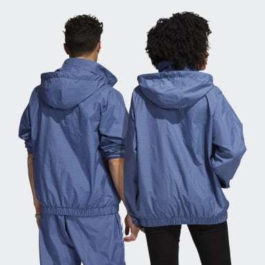 Originals Blue Primeblue Workshop Windbreaker (Gender Neutral)