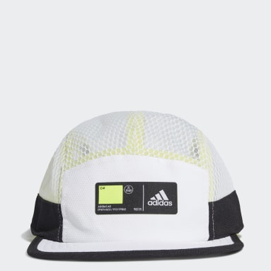 Five-Panel Athletics Caps Hvit