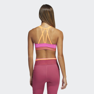 Women Training Pink Don't Rest Bra