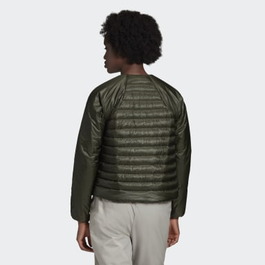 Terrex Hike Bomber Down Jacket Zielony