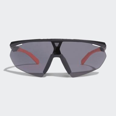 Běh černá Sluneční brýle Sport SP0015