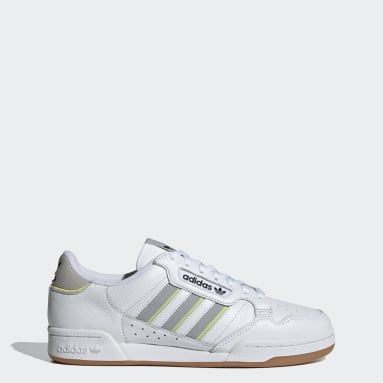 Scarpe Continental 80 Stripes Bianco Originals