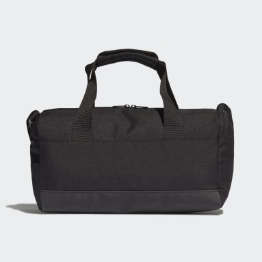 Lifestyle Black Essentials 3-Stripes Duffel Bag Extra Small