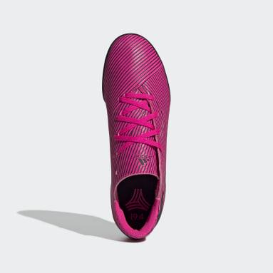 Calzado de Fútbol Nemeziz 19.4 Césped Artificial Rosa Hombre Fútbol