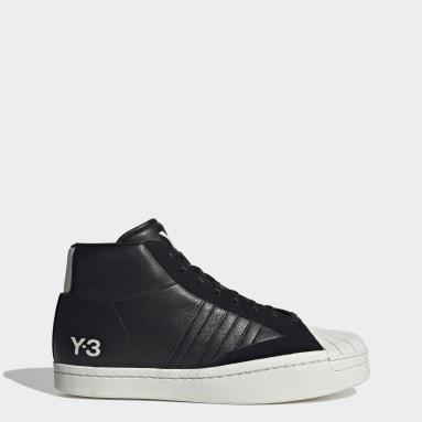 черный Кроссовки Y-3 Yohji Pro