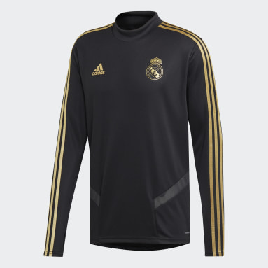 Heren Voetbal Zwart Real Madrid Training Longsleeve