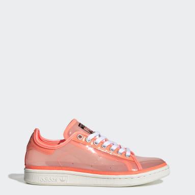 Women Originals Orange Stan Smith Shoes