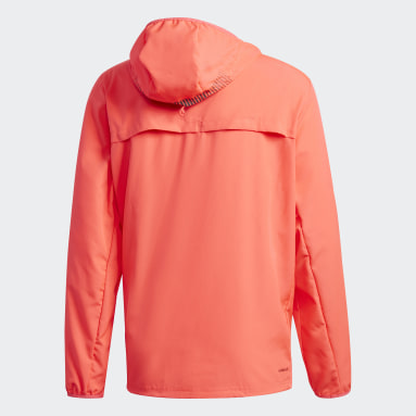 Coupe-vent Activated Tech Primeblue Rose Hommes Running