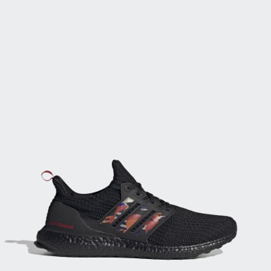Running Black Ultraboost DNA CNY Shoes